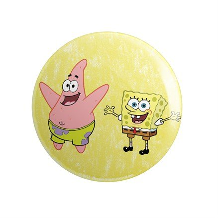 Bros - SpongeBob SquarePants Official Badge