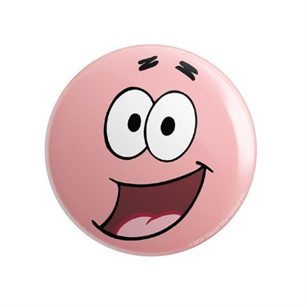 Patrick: Face - SpongeBob SquarePants Official Badge