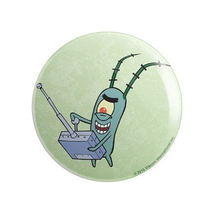 Plankton: Evil - SpongeBob SquarePants Official Badge