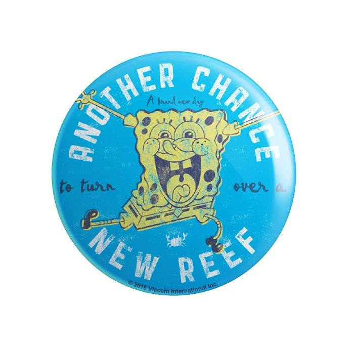 Turn Over A New Reef - SpongeBob SquarePants Official Badge