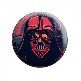 Darth Vader Mask - Star Wars Official Badge
