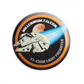 Millennium Falcon - Star Wars Official Badge