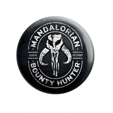 The Mandalorian - Star Wars Official Badge
