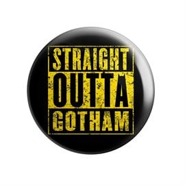 Straight Outta Gotham - Badge