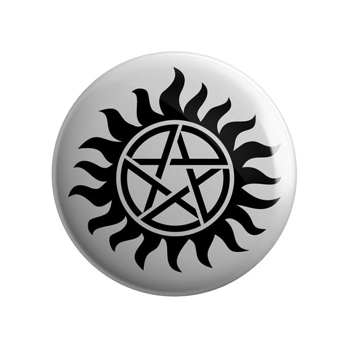 Supernatural: Anti-Possession Tattoo Badge | Redwolf