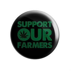 Support Our Farmers - Badge