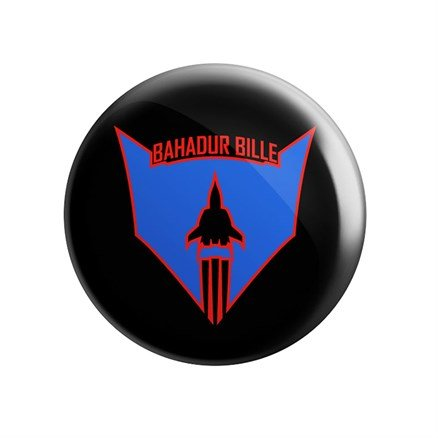 Bahadur Bille - Badge