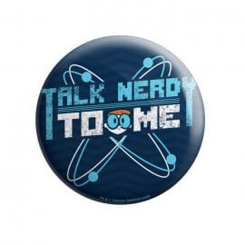 Talk Nerdy To Me - Dexter's Laboratory Official Badge