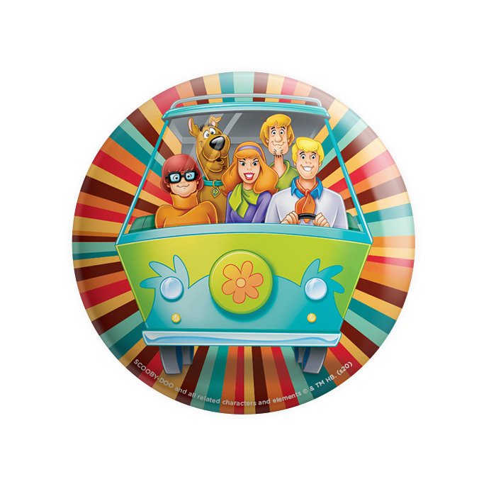 The Mystery Machine - Scooby Doo Official Badge