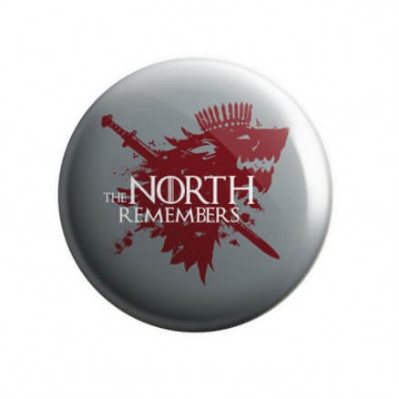 The North Remembers - Badge