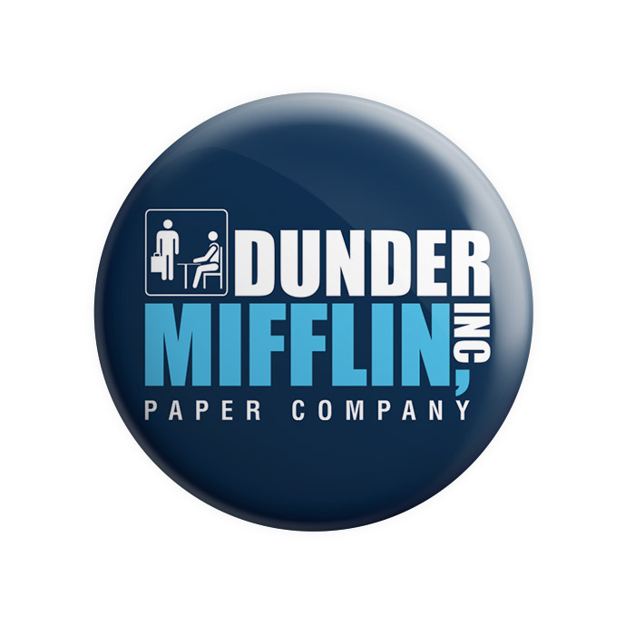 Dunder Mifflin Paper Company - Badge