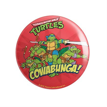 Cowabunga - TMNT Official Badge