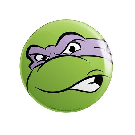 Donatello Face - TMNT Official Badge
