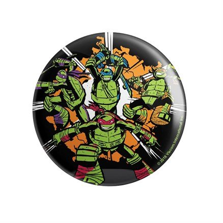 Go Ninja - TMNT Official Badge