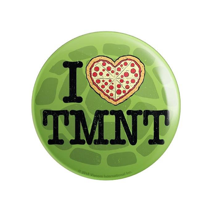 I Heart TMNT - TMNT Official Badge