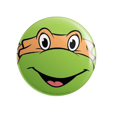 Michelangelo Face - TMNT Official Badge