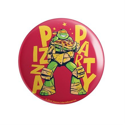 Pizza Party - TMNT Official Badge