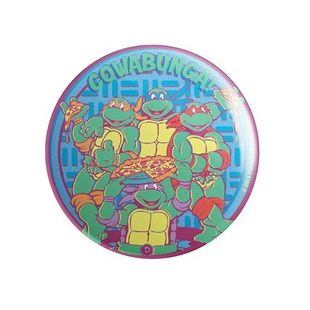 Raise Some Shell - TMNT Official Badge