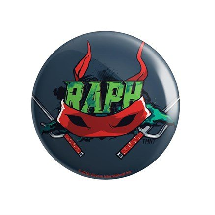 Raph: Bandana - TMNT Official Badge