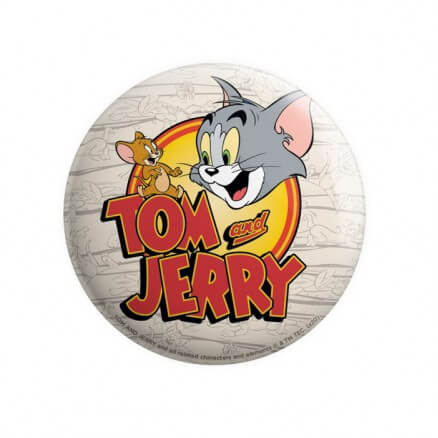 Tom & Jerry: Classic Logo - Tom & Jerry Official Badge