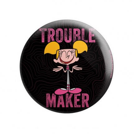 Trouble Maker - Dexter's Laboratory Official Badge