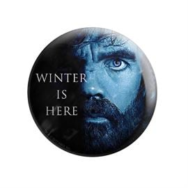 Tyrion Lannister: Winter Is Here - Game Of Thrones Official Badge