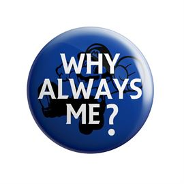 Mario Balotelli: Why Always Me? - Badge