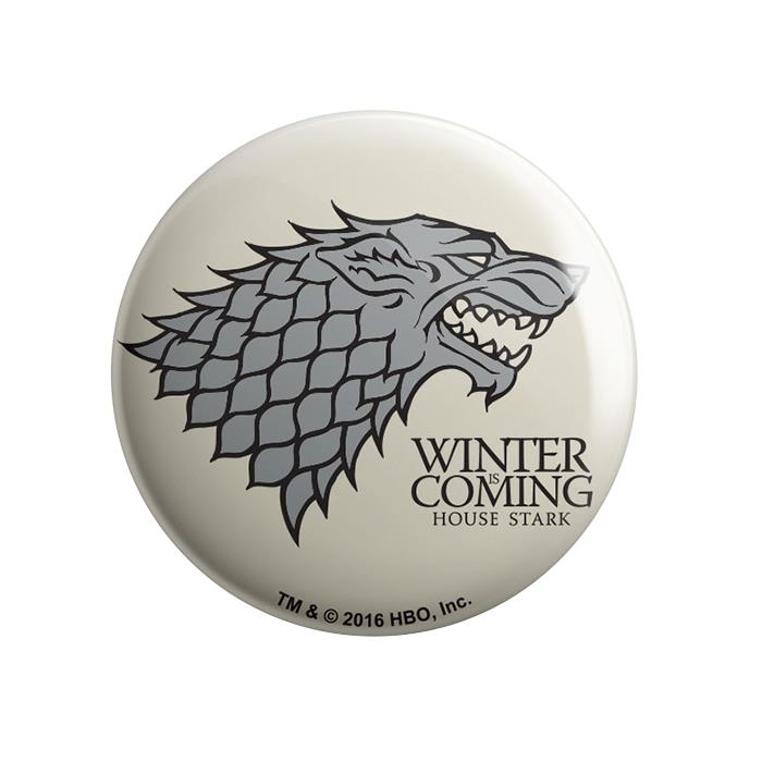 House Stark: Winter Is Coming - Game Of Thrones Official Badge
