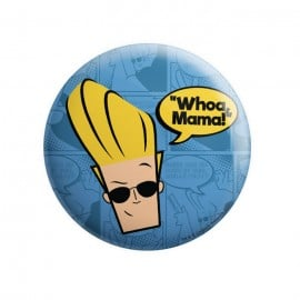 Woah Mama - Johnny Bravo Official Badge