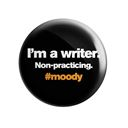 I'm a Writer. Non-practicing- Badge