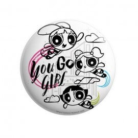You Go Girl - The Powerpuff Girls Official Badge