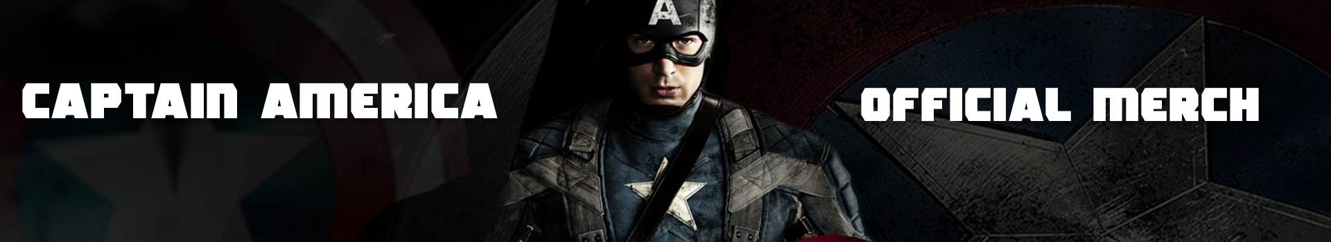 Captain America top banner
