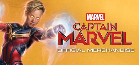 Captain Marvel Merchandise Page