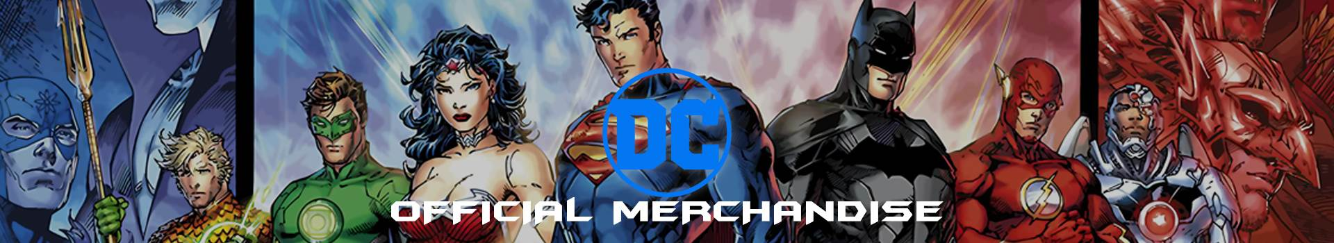 DC Comics Top Banner