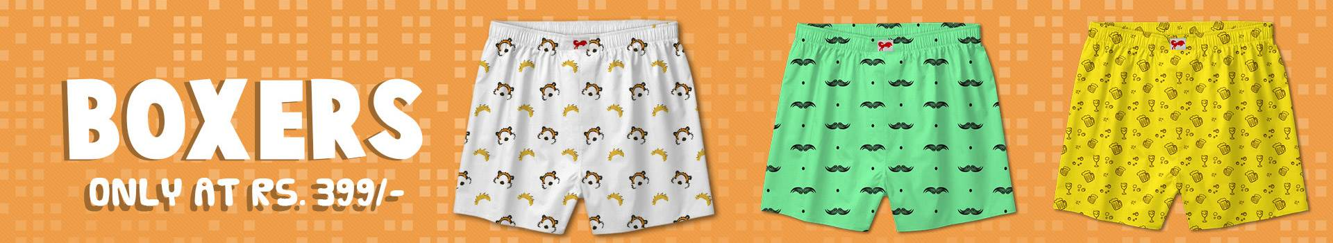 Category Banner - Boxer Shorts