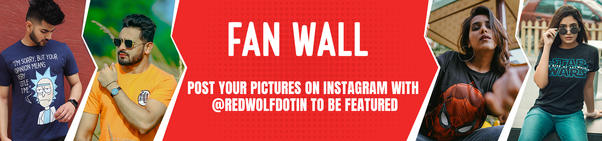 Fan Wall - Category Banner