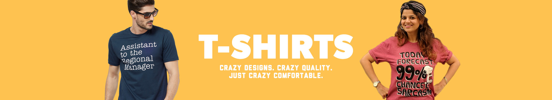 Category Banner - T-shirts