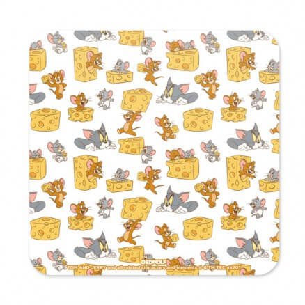 Cheese Pattern - Tom & Jerry Official Coaster