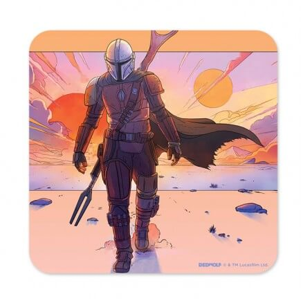 Cinematic Mandalorian - Star Wars Official Coaster