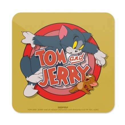 Classic Duo - Tom & Jerry Official Coaster
