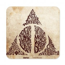 Deathy Hallows - Harry Potter Official Coaster