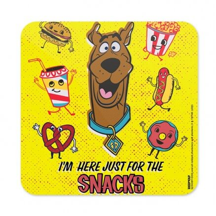 For The Snacks - Scooby Doo Official Coaster