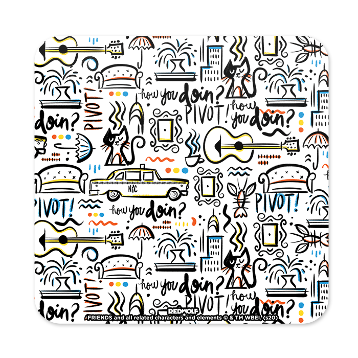 Friends: Doodle - Friends Official Coaster