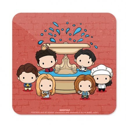 Friends Fountain - Friends Official Coaster
