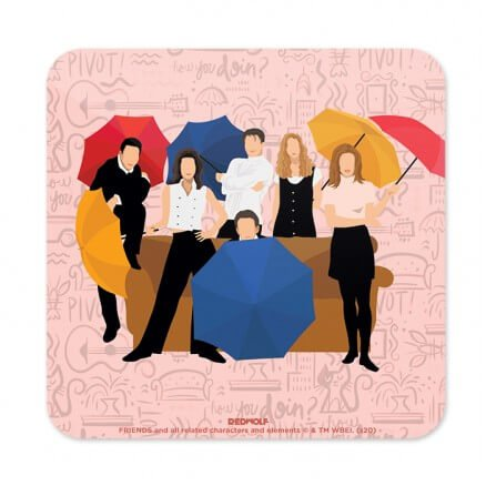 Friends: Umbrella - Friends Official Coaster