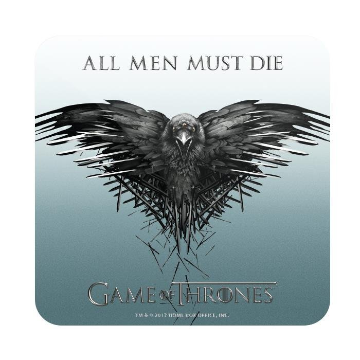 All Men Must Die - Game Of Thrones Official Coaster