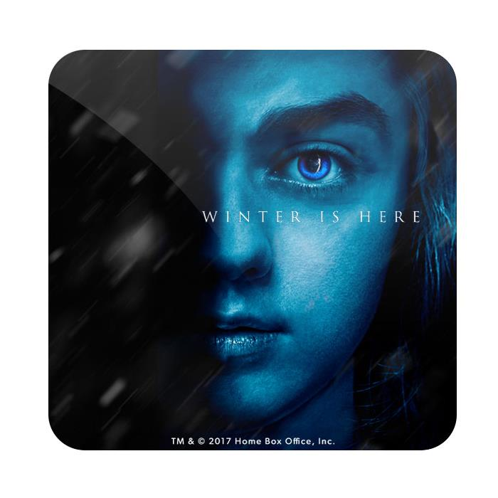 Arya Stark: Winter Is Here - Game Of Thrones Official Coaster