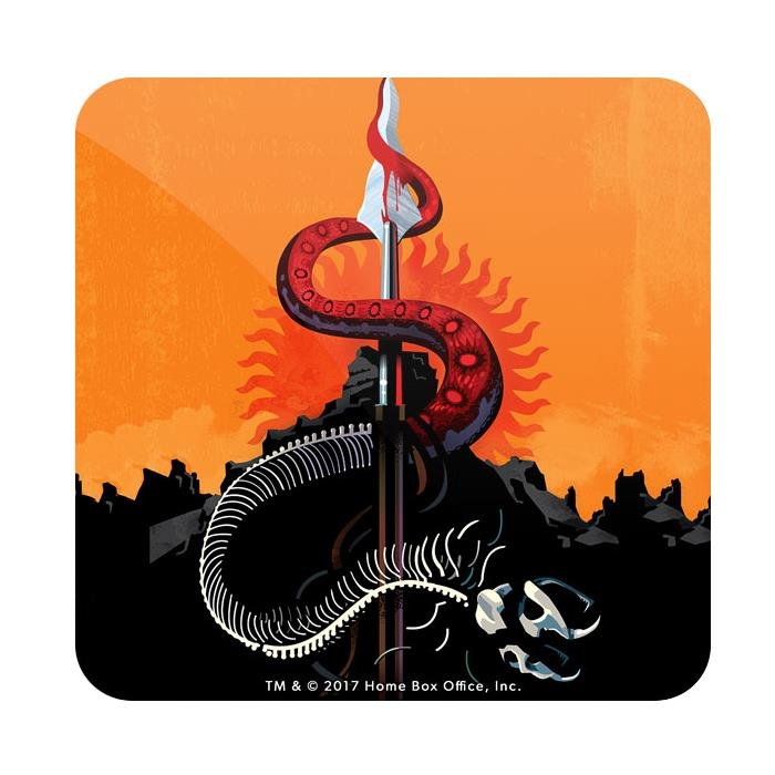 The Red Viper And The Mountain: Beautiful Death - Game Of Thrones Official Coaster