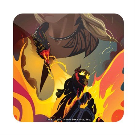 Valahd: Beautiful Death - Game Of Thrones Official Coaster