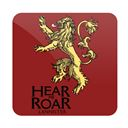 Hear Me Roar - Game Of Thrones Official Coaster
